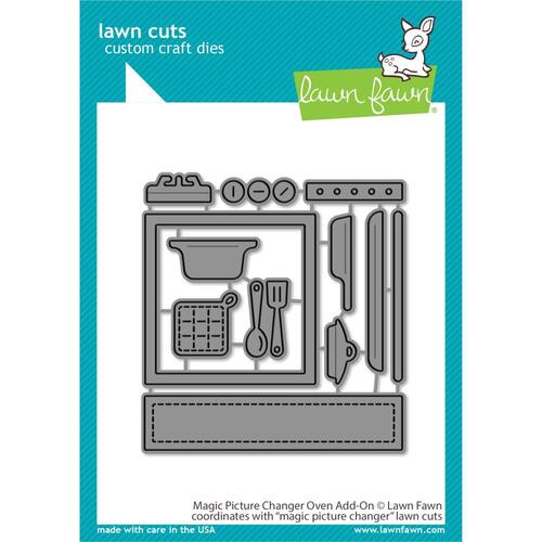 Lawn Fawn Lawn Cuts Die Magic Picture Changer Oven Add-on