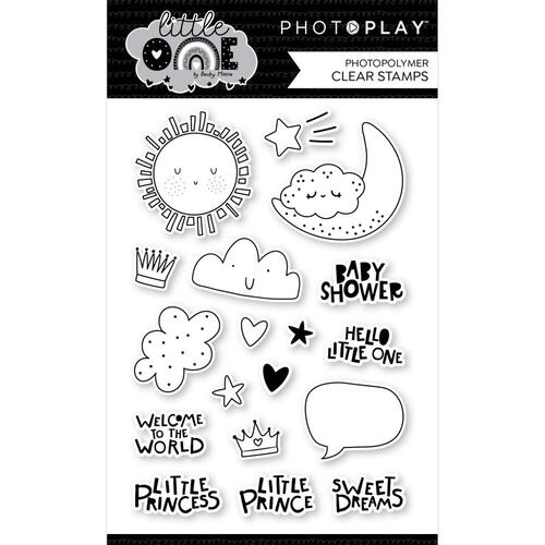 PhotoPlay Paper Little One Icons Stamp