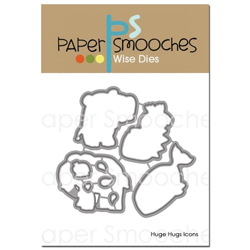 Paper Smooches Die Huge Hugs Icons