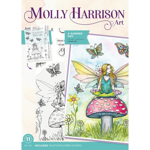 Molly Harrison Stamp A Summer Day