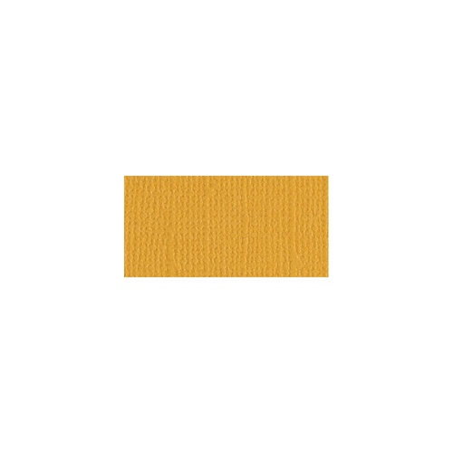 "Bazzill Mono Cardstock 12x12"" Canvas Texture Beeswax"