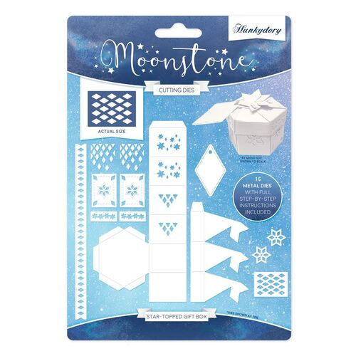 Hunkydory Star Topped Gift Box Moonstone Die Set