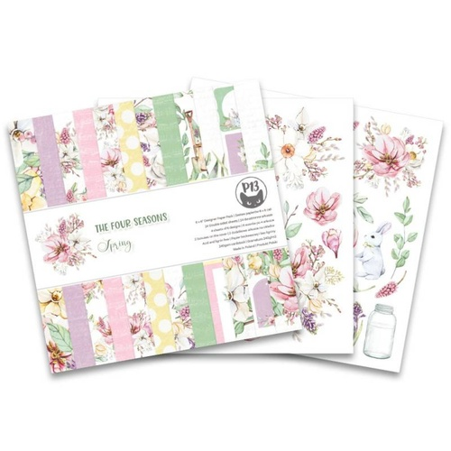 "P13 The Four Seasons Spring 6"" Paper Pad"