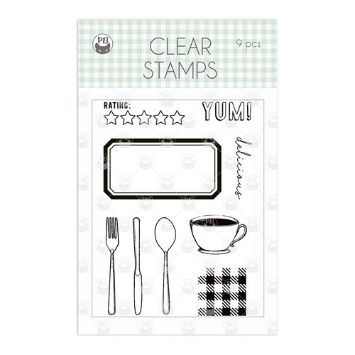 P13 Around the Table Stamp