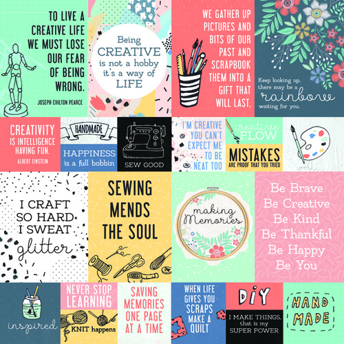 Kaisercraft Crafternoon Scrapbook Paper DIY
