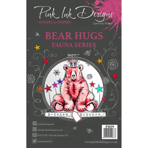 Pink Ink Designs Stamp Bear Hugs