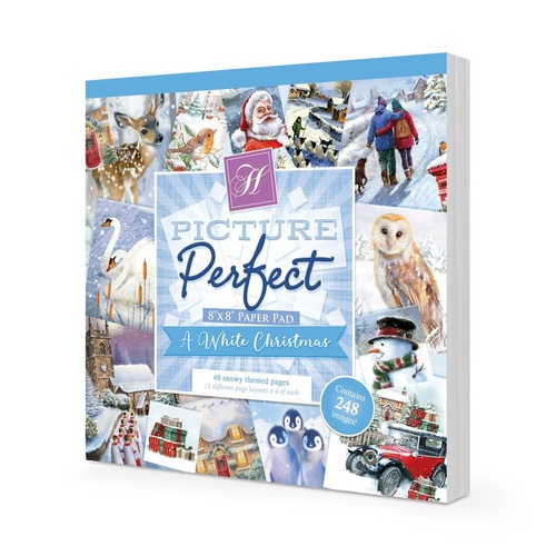 Hunkydory Picture Perfect Pad A White Christmas
