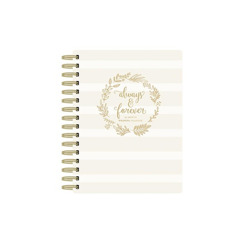 Paper House Spiral Bound Planner Always & Forever Wedding