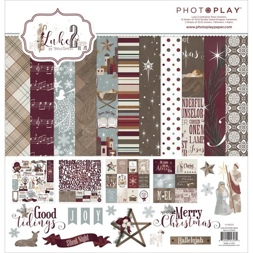 "Photo Play Paper 12x12"" Collection Pack Luke 2"