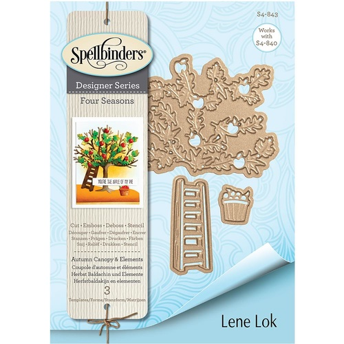 Spellbinders Four Seasons Shapeabilities Die Autumn Canopy & Elements by Lene Lok