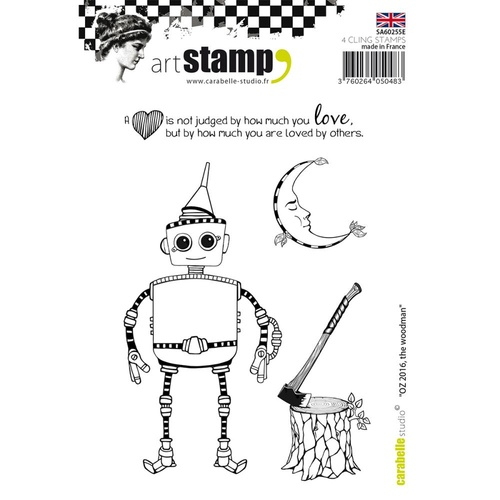 Carabelle Studio Cling Stamp A6 Oz 2016 The Woodman
