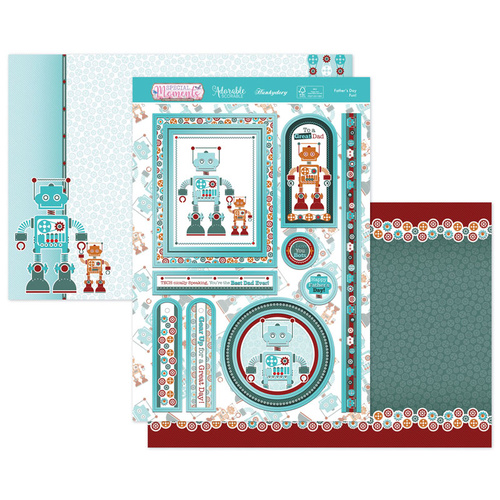 Hunkydory Special Moments Luxury Topper Set Father's Day Fun