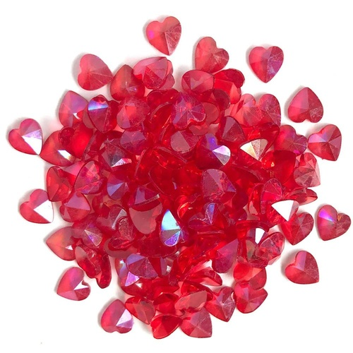 Sparkletz Embellishment Pack Red Hearts