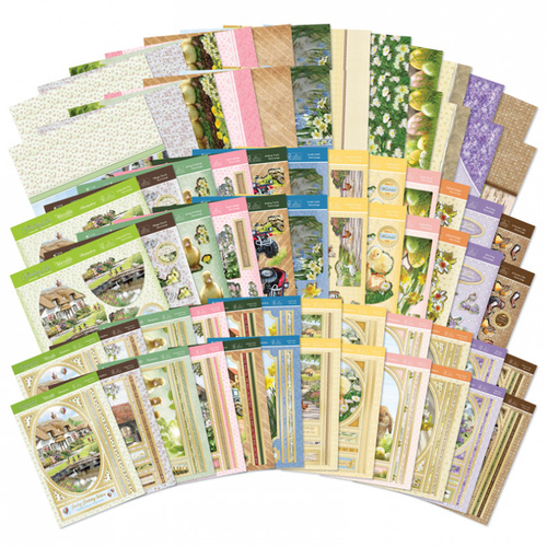 Hunkydory Spring Days & Country Life Designer Deco Large Collection