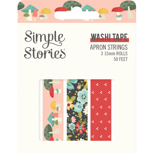 Simple Stories Apron Strings Washi Tape