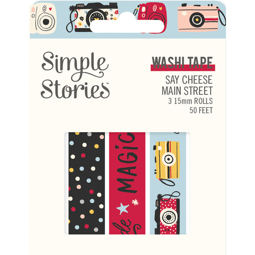 Simple Stories Say Cheese Main Street Washi Tape