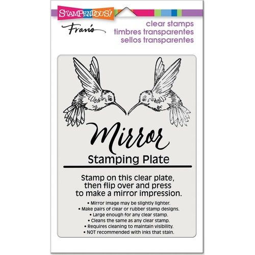Stampendous Mirror Stamp Plate