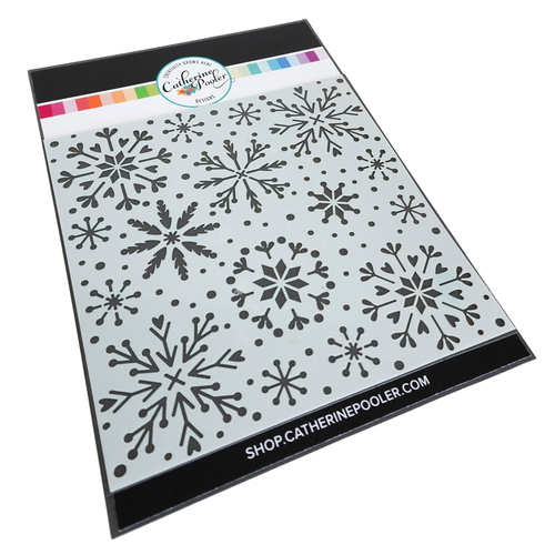 Catherine Pooler Snowfall Stencil