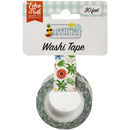 Echo Park Summertime Washi Tape Summer Flowers