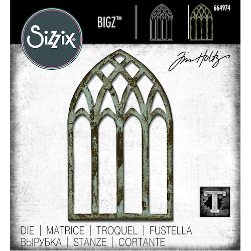 Sizzix Bigz Die Cathedral Window by Tim Holtz