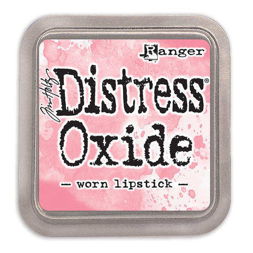 Tim Holtz Distress Oxide Ink Pad Worn Lipstick