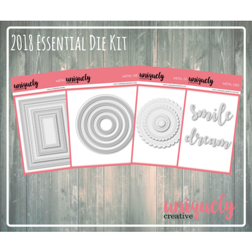 Uniquely Creative Die Essential Kit 2018