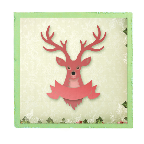 Ultimate Crafts Silent Night Die Prancer