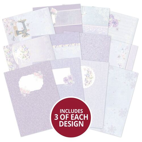 Hunkydory Violet Delights Luxury Card Inserts Collection