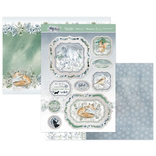 Hunkydory Winter Forest Luxury Topper Set Festive Enchantment
