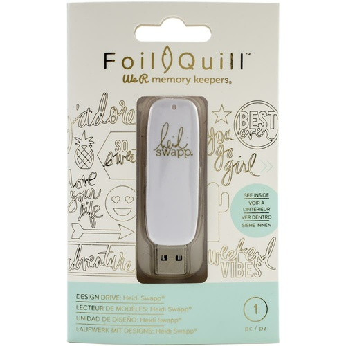 We R Memory Keepers Foil Quill USB Drive Heidi Swap