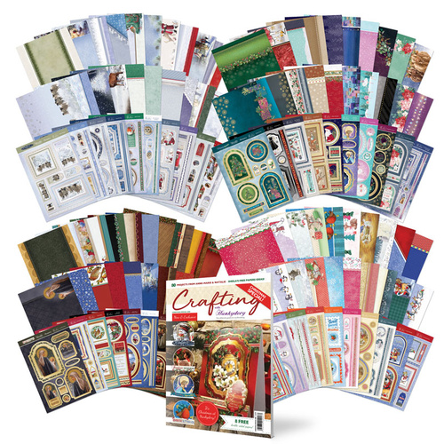 Hunkydory Christmas Blockbuster Luxury Topper Collection Bundle